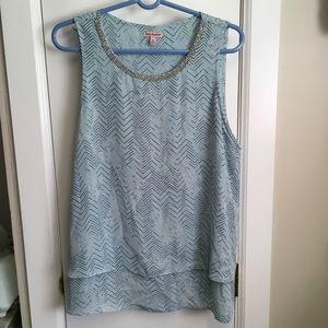 Juicy Couture blue Blouse XL